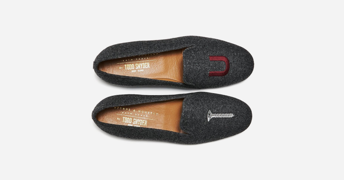 Stubbs & Wooten's Renowned 'Screw You' Slippers are Almost $300 Off Right Now