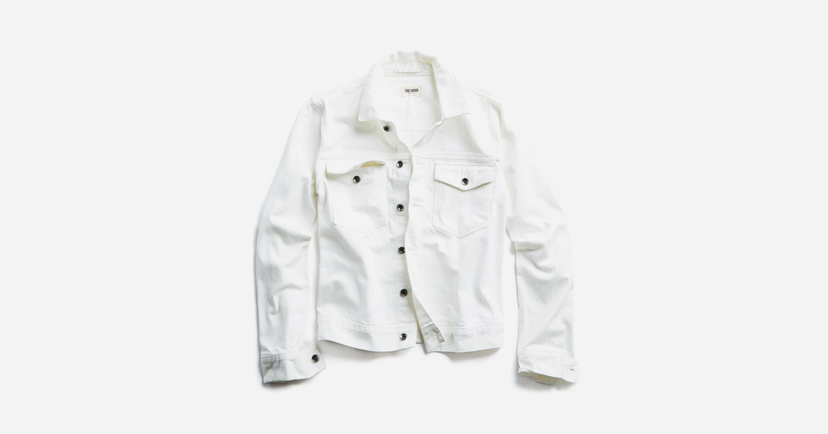 There's Cool and There's White Japanese Denim Jacket Cool