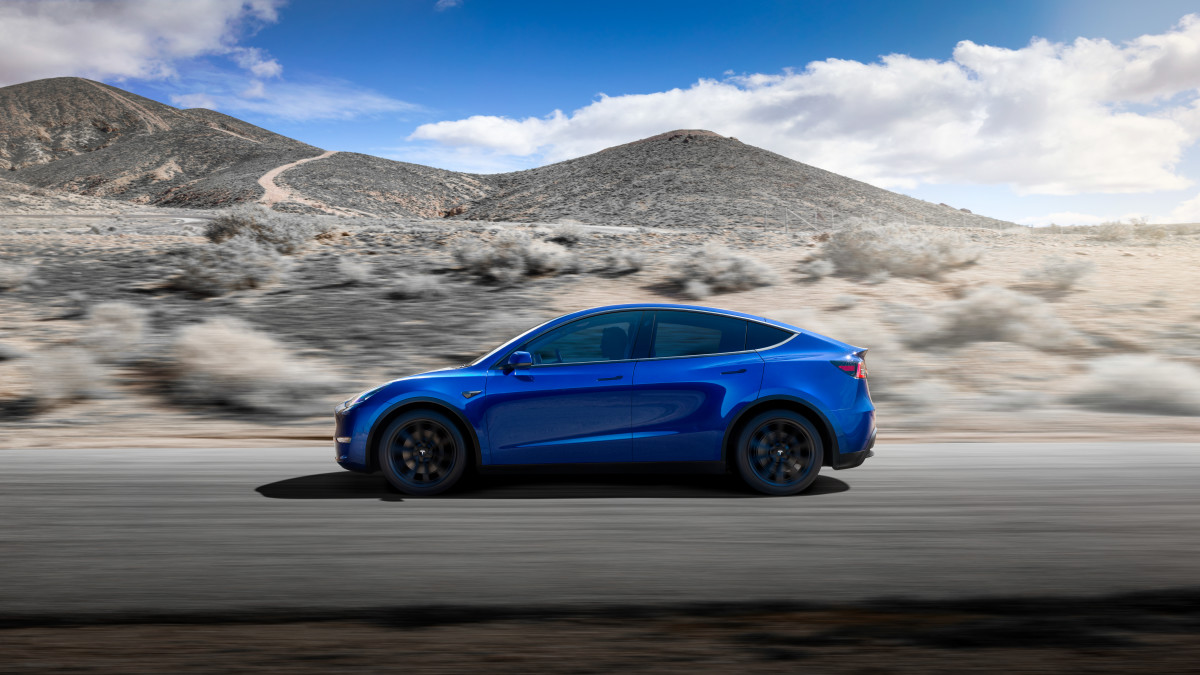tesla debuts long awaited model y crossover suv airows. Black Bedroom Furniture Sets. Home Design Ideas