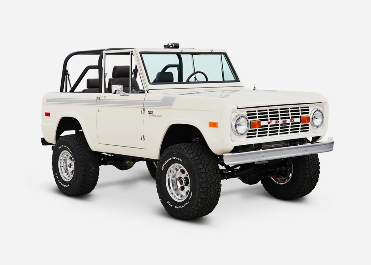 Custom Ford Broncos